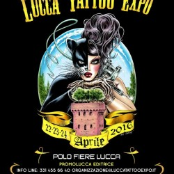 Lucca Tattoo Expo 21-23 Aprile 2017