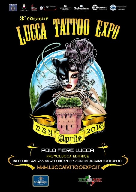 tattoo expo 20160220 1395265724 453x640 Lucca Tattoo Expo 21 23 April 2017