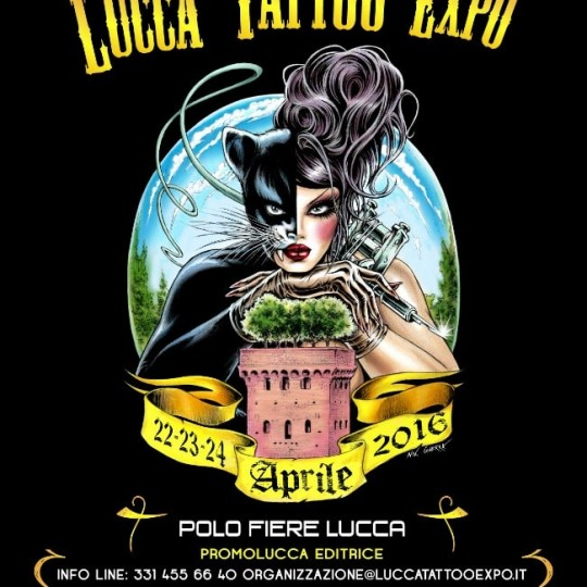 Lucca Tattoo Expo 21-23 April 2017