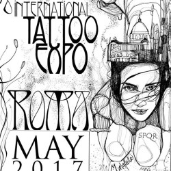 18th International Tattoo Expo Roma - 2017