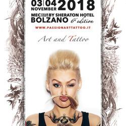 Passion Art Tattoo Convention 2018 Bolzano