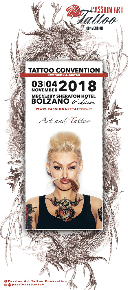 Passion Art Tattoo Convention 2018 Bolzano